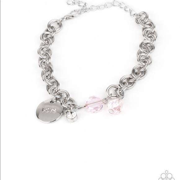 Paparazzi Children's Blue//pink//purple//green//silver Butterfly Charm Bracelet-New
